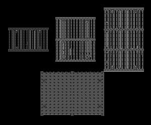 Решетки чугунные BGM - фото